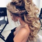 Long hairstyles for a ball