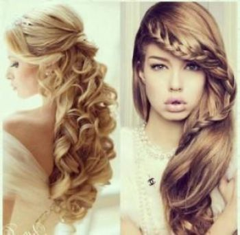 Long hairstyles for prom 2018