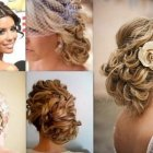 Long hairstyles for wedding day