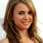 Long length hairstyles for round faces