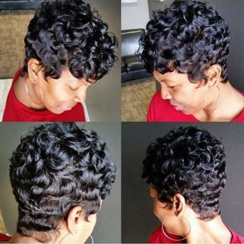 New short hairstyles for black ladies