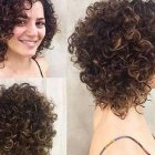 Popular curly hairstyles