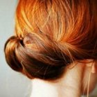 Pretty updo hairstyles for long hair