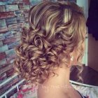Prom updos for long curly hair