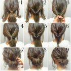 Quick simple updos