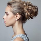 Updo haircut