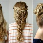 Wedding party hair style