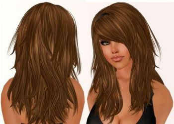 Hairstyles with side bangs and layers for long hair
