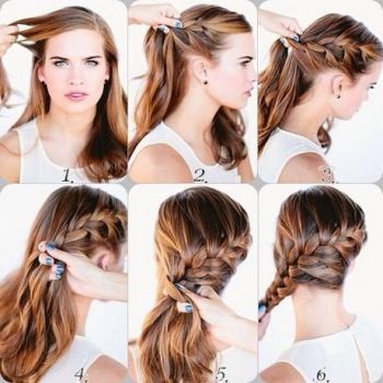 Latest and simple hairstyle