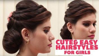 New latest simple hairstyle