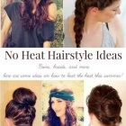 Hairstyles no heat