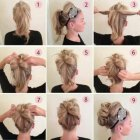 Hairstyles quick updos