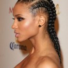 Hairstyles using braids