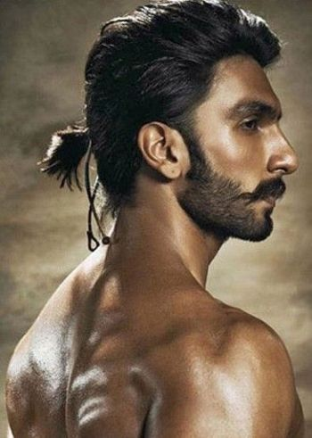 Bollywood actor long hair style