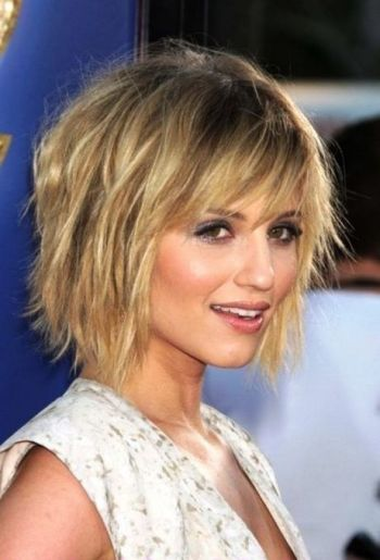 Short hairstyles for ladies with fine hair