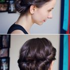 Bun hairstyles w headband