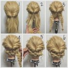 Cool easy updos for long hair