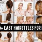 Different and easy hairstyles for long hair