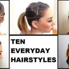 Different hairstyle for daily use