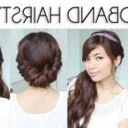Easy and fast hairstyles for long hair