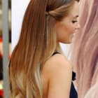 Easy hairstyles for thick straight hair