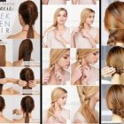 Hairstyle for long hair simple