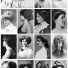 Hairstyles early 1900s