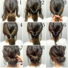 Quick and easy updos for long hair