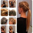 Quick daily hairstyles