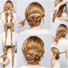 Super easy updos for long hair