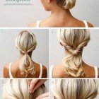 Updos for fine long hair