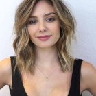 Medium length layered haircuts 2019